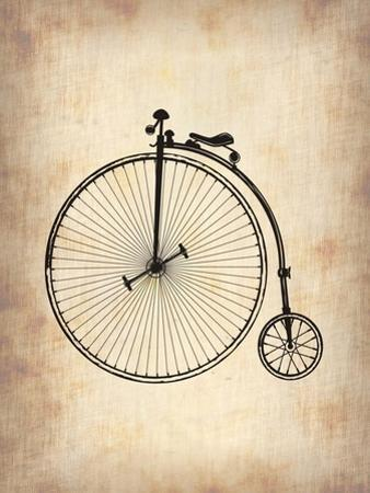 Vintage Bicycle by NaxArt