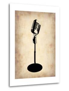 Vintage Microphone by NaxArt