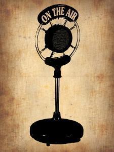 Vintage Radio Microphone by NaxArt