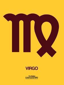 Virgo Zodiac Sign Brown by NaxArt