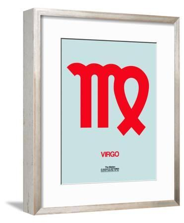 Virgo Zodiac Sign Red