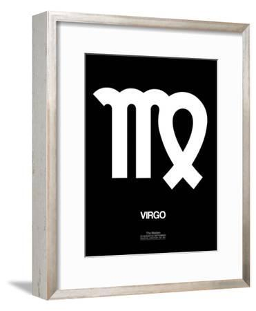 Virgo Zodiac Sign White