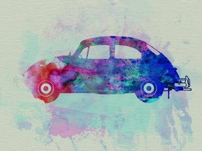 VW Beetle Watercolor 1