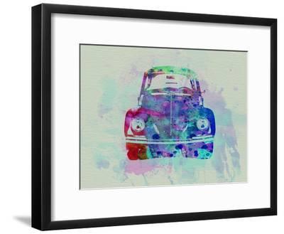 VW Beetle Watercolor 2