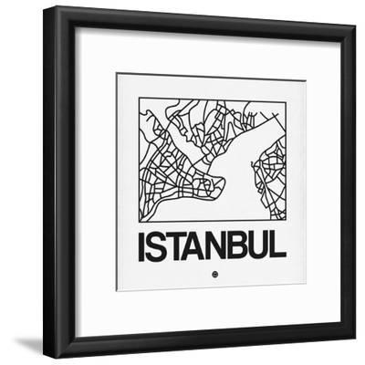 White Map of Istanbul