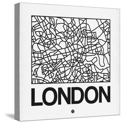 White Map of London