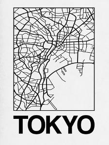White Map of Tokyo by NaxArt