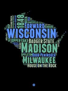 Wisconsin Word Cloud 1 by NaxArt