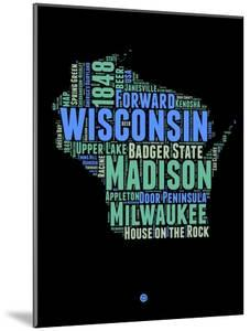 Wisconsin Word Cloud 1 by NaxArt