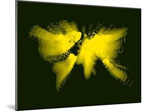 Yellow Radiant World Map by NaxArt