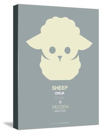 Yellow Sheep Multilingual Poster