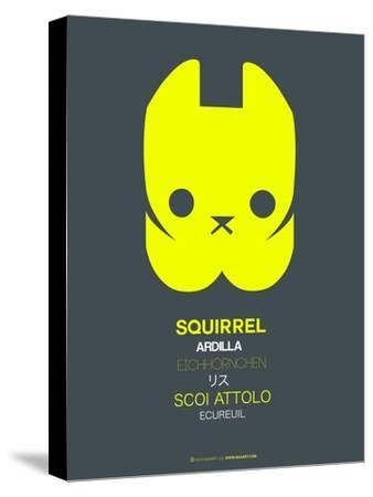 Yellow Squirrel Multilingual Poster