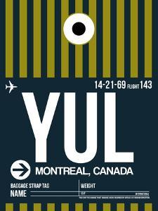 YUL Montreal Luggage Tag 1 by NaxArt