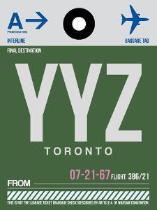 YYZ Toronto Luggage Tag 1 by NaxArt