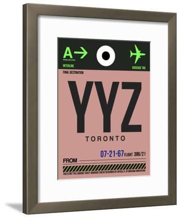 YYZ Toronto Luggage Tag 2