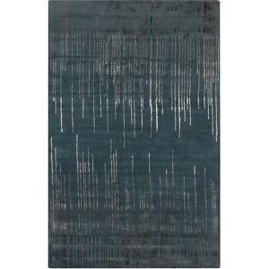 Naya Flow Area Rug - Teal/Mocha 5' x 8'