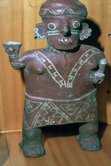 Nayarit figure of a standing man, 2nd century BC. Artist: Unknown-Unknown-Giclee Print