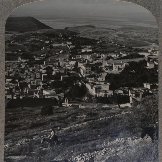 'Nazareth and the Mount of Precipitation', c1900-Unknown-Photographic Print