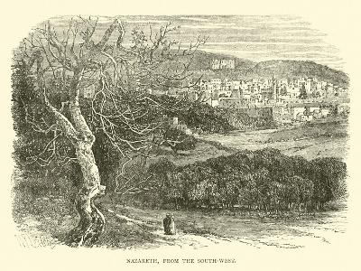Nazareth, from the South-West--Giclee Print