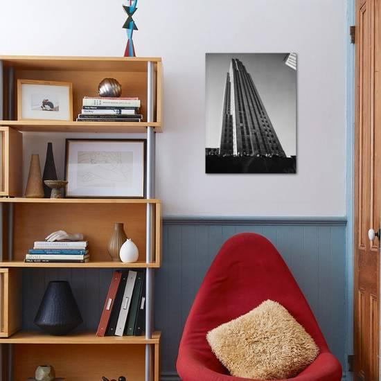 Nbc Building At Rockefeller Center Photographic Print Margaret Bourke White Art Com