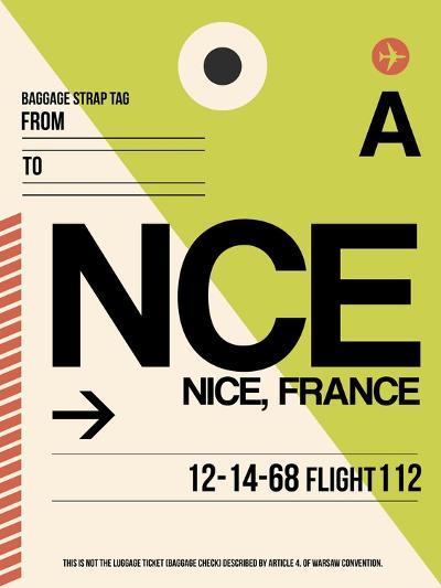 NCE Nice Luggage Tag 2-NaxArt-Art Print