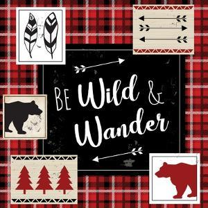 Be Wild and Wander by ND Art