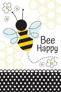 Bee Happy by ND Art