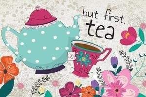 But First Tea by ND Art