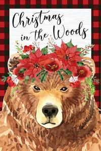 Christmas in the Woods by ND Art