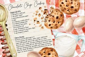 Cookie Recipe by ND Art