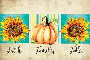 Faith, Family, Fall by ND Art