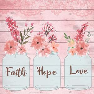Faith Hope Love by ND Art