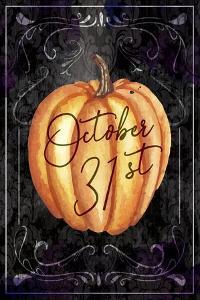 Halloween Pumpkin by ND Art