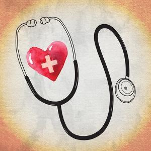 Heart Stethoscope by ND Art
