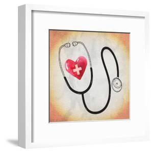 Heart Stethoscope by ND Art