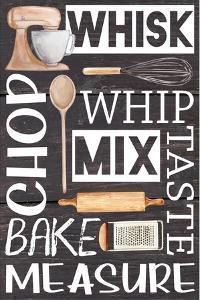 Kitchen Words by ND Art