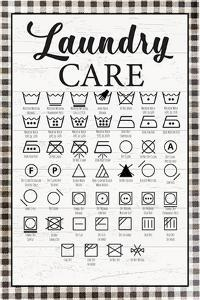 Laundry Instructions by ND Art