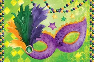 Mardi Gras V by ND Art
