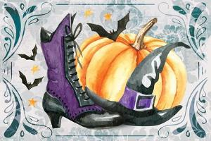 Witchy Shoes by ND Art