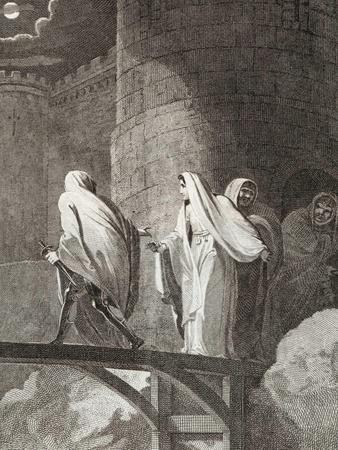 Empress Matilda Imprisoned by Stephen in Oxford Castle