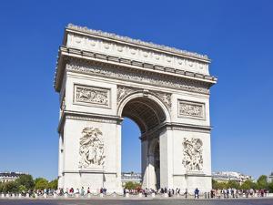 Arc de Triomphe, Paris, France, Europe by Neale Clark