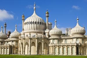 Brighton Royal Pavilion, Brighton, East Sussex, England, United Kingdom, Europe by Neale Clark