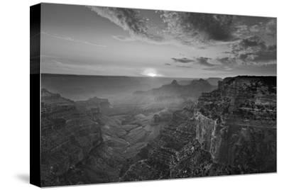 Cape Royal Viewpoint at Sunset, North Rim, Grand Canyon Nat'l Park, UNESCO Site, Arizona, USA