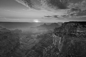 Cape Royal Viewpoint at Sunset, North Rim, Grand Canyon Nat'l Park, UNESCO Site, Arizona, USA by Neale Clark