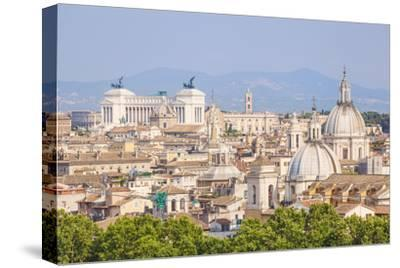 Churches and Domes of the Rome Skyline Showing Victor Emmanuel Ii Monument in the Distance, Rome