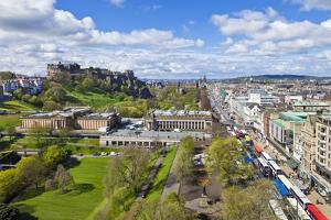 Edinburgh City Skyline by Neale Clark