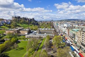 Edinburgh City Skyline by Neale Clark