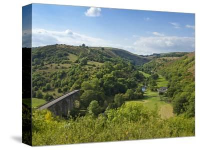 Monsal Dale and Railway Viaduct, Peak District National Park, Derbyshire, England, United Kingdom,