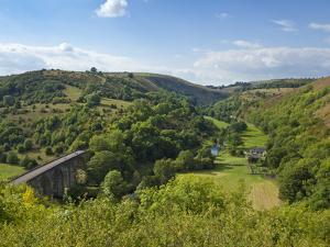 Monsal Dale and Railway Viaduct, Peak District National Park, Derbyshire, England, United Kingdom,  by Neale Clark