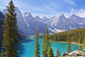 Moraine Lake in the Valley of the Ten Peaks by Neale Clark